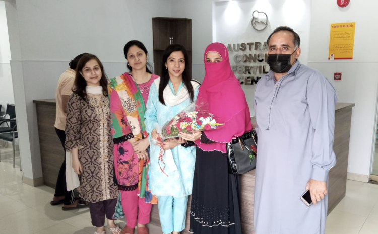 IVF / ICSI Positive After 12 Years of Marriage